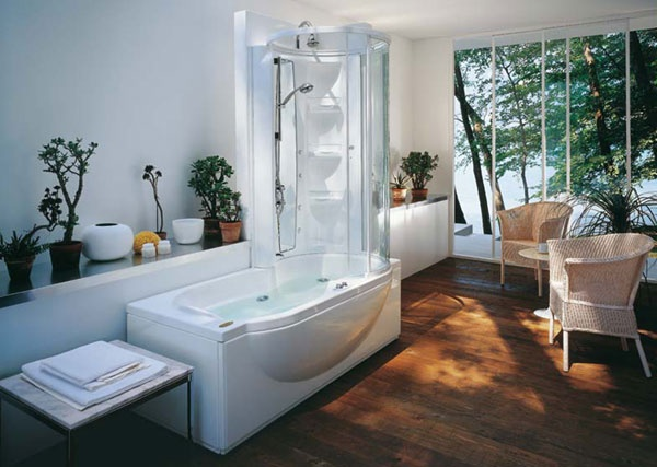 Docce house design di vena e for Vasca da bagno combinata
